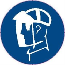 MAND PICTOGRAM FACE SHIELD