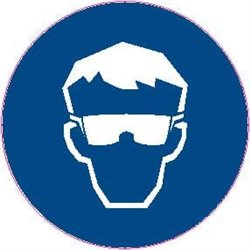 MAND PICTOGRAM SAFETY GOGGLES