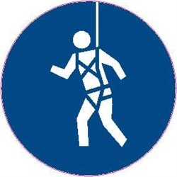 MAND PICTOGRAM SAFETY HARNESS