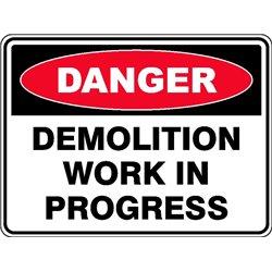 DANGER DEMOLITION IN PROG