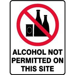 PROHIB ALCOHOL ON SITE