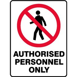 PROHIB AUTH PERSONNEL ONLY
