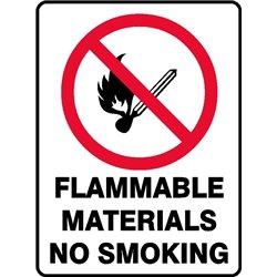PROHIB FLAMM NO SMOKING