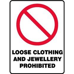 PROHIB LOOSE CLOTHING