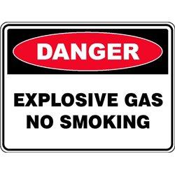 DANGER EXPLOSIVE GAS