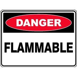 DANGER FLAMMABLE