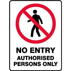 PROHIB NO ENT AUTH PERS ONLY