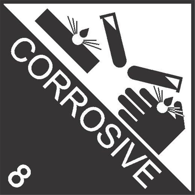 DANGEROUS GOODS CORROSIVE 8