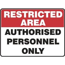 RESTRICTED AUTHORISED