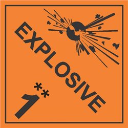DANGEROUS GOODS EXPLOSIVES 1