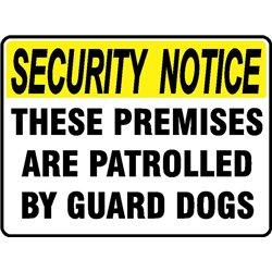 SEC NOTICE GUARD DOGS