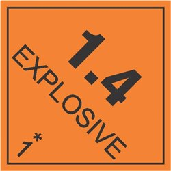 DANGEROUS GOODS EXPLOSIVES 1.4