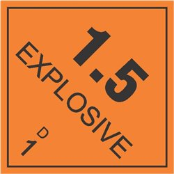 DANGEROUS GOODS EXPLOSIVES 1.5