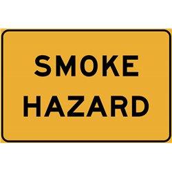 TEMPORARY TRAFFIC SMOKE HAZARD