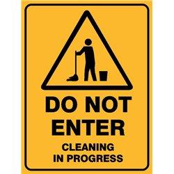 WARNING DO NOT ENTER