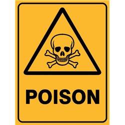 WARNING POISON