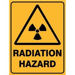 WARNING RADIATION HAZARD