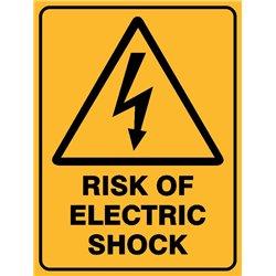 WARNING RISK OF ELECT SHOCK