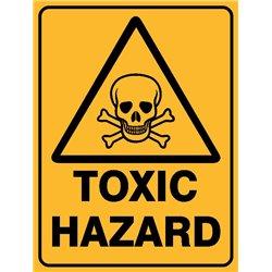 WARNING TOXIC HAZARD