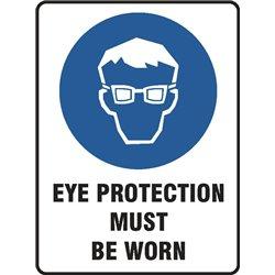 MANDATORY EYE PROTECTION MUST BE WORN