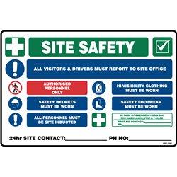 MANDATORY MULTI SITE SAFETY SIGN