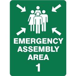 EMERGENCY ASSEMBLY AREA 1