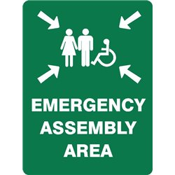 EMERGENCY ASSEMBLY AREA DISABLED