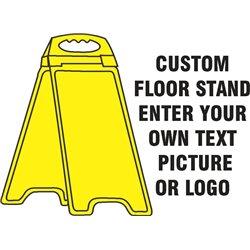YELLOW FLOOR STAND CUSTOM