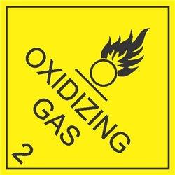 DANGEROUS GOODS OXIDISING GAS2