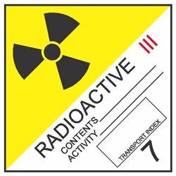 DANGEROUS GOODS RADIOACTIVE3-7