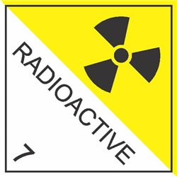 DANGEROUS GOODS RADIOACTIVE 7