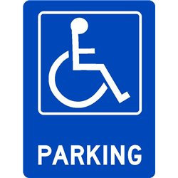 ACCESIBLE DISABLED PARKING