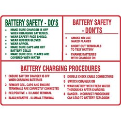 BATTERY DO'S AND DON'T