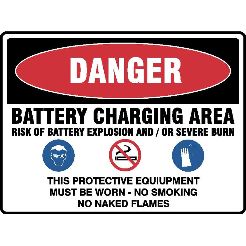 BATTERY CHARGING AREA