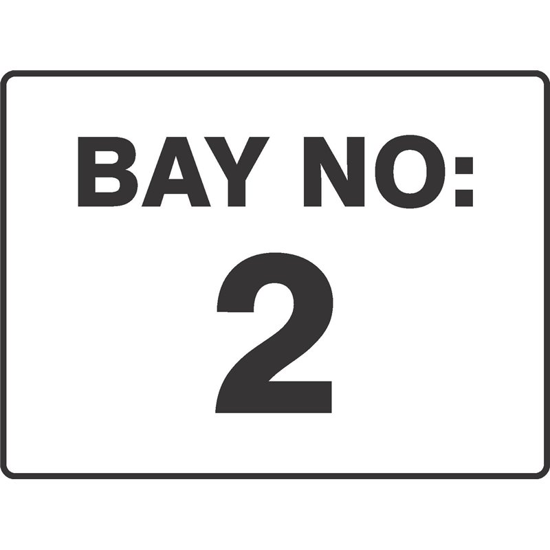 GENERAL BAY NUMBER 2
