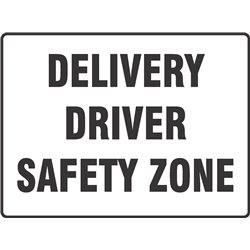 DELIVERY DRIVER SAFETY ZONE