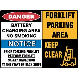 BATTERY CHARGING AREA FORKLIFT MULTI