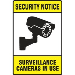 SECURITY SURVEILLANCE CAMERAS IN USE PORTRAIT