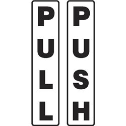 DOOR PUSH PULL