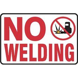 NO WELDING
