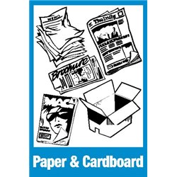 RECYCLE PAPER AND CARDBOARD