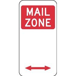 TRAFFIC MAIL ZONE ARROW 2 WAY