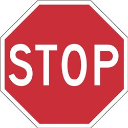 REGULATORY STOP OCTAGONAL